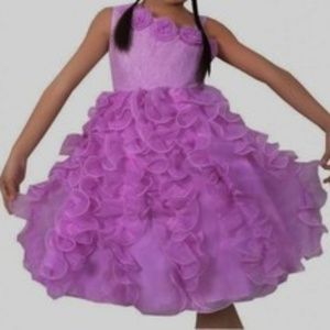Other - Girls Fancy Frilly Pageant Birthday Wedding Dress